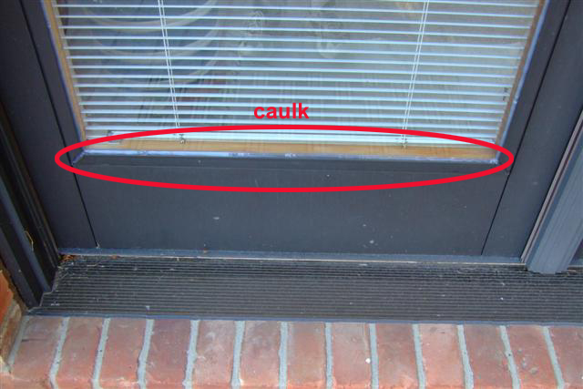 September 17 2008 I caulk between the glass and the aluminum clad. The caulk is not the best looking thing but I feel 100% better having windows that are ... & Pella Seal Failure - Timeline